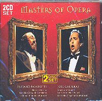 CD Masters of opera - 2 CD set