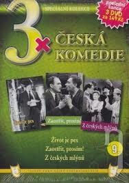 3x Česká komedie 10. - 3xDVD