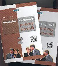 Anglicko-slovenský slovensko-anglický slovník Právny slovník I. + II. SLOV