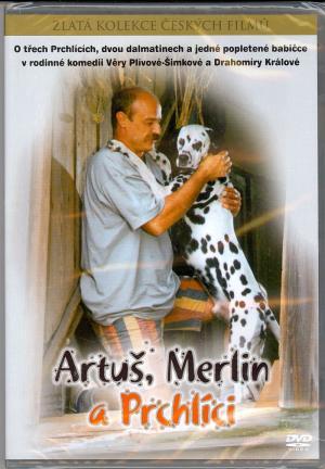 DVD Artuš, Merlin a Prchlíci