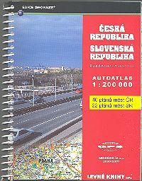 Autoatlas Česká republika Slovenská republika