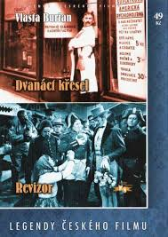DVD Dvanáct křesel Revizor