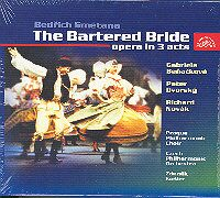 CD Prodaná nevěsta The Bartered Bride 2 CD