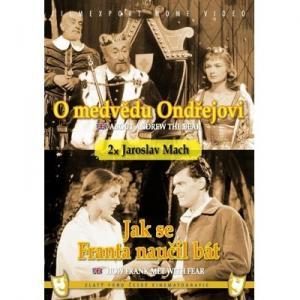 DVD O medvědovi Ondřejovi a Jak se Franta naučil bát