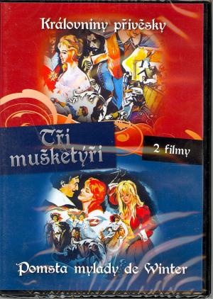 DVD Tři mušketýři - 2 DVD