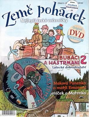DVD Země pohádek + Bubáci a Hastrmani