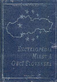 Encyklopédia miest a obcí Slovenska SLOV