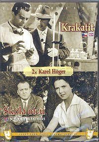 DVD Krakatit + Škola otců