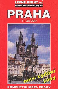 Praha - kompletní mapa Prahy