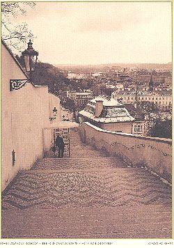 Print Stare zámecké schody
