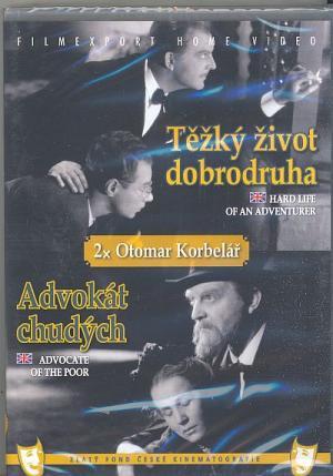DVD Těžký život dobrodruha  Advokát chudých