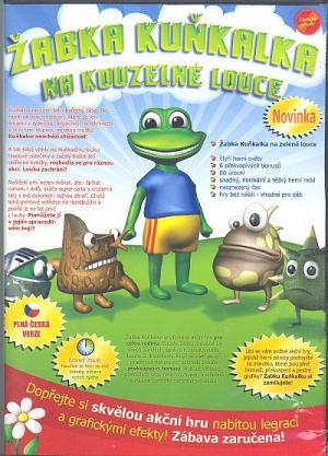 CD-ROM Žabka Kuňkalka na kouzelné louce