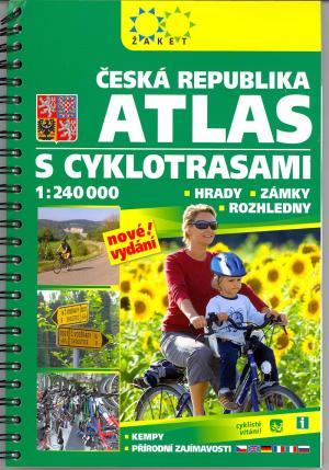 Česká republika: Atlas s cyklotrasami