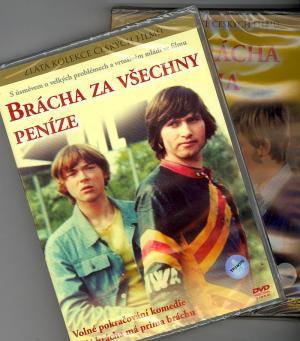 DVD Můj brácha má prima bráchu + Brácha za všechny prachy