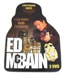 DVD Ed McBain 3DVD v dárkové plechové krabici