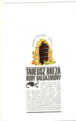 Hody Balsazarovy USED