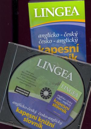 Anglicko-český česko-angl. kapesní slovník + CDROM