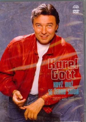 DVD Karel Gott: Když muž se ženou snídá Hity 90. let