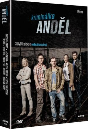 DVD Kriminálka Anděl 4. řada - 3 DVD