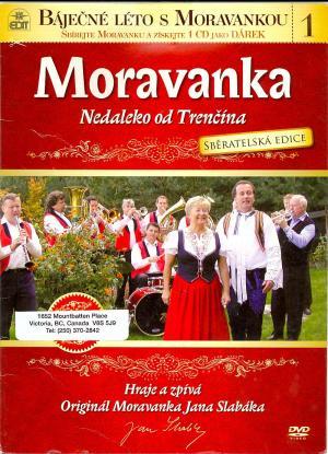 DVD Moravanka - Nedaleko od Trenčína