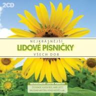 CD Nejkrásnější lidové písničky všech dob - 2 CD
