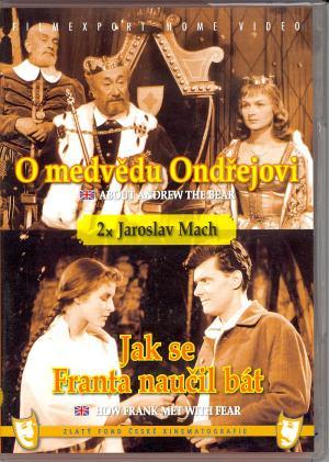 DVD O medvědu Ondřejovi Jak se Franta naučil bát