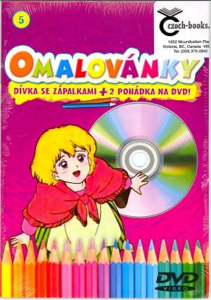 DVD Omalovánky a Dívka se zápalkami na DVD