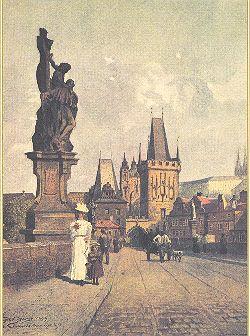 Print Karlův Most