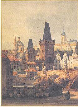 Print Malostranské Mostecké věže