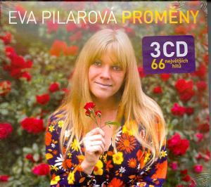 CD Eva Pilarová Proměny - 3 CD