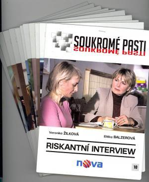 DVD Soukromé pasti - 11 DVD
