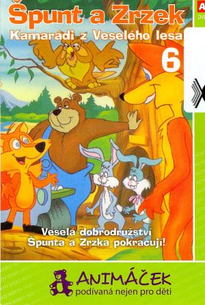 DVD Špunt a Zrzek 6