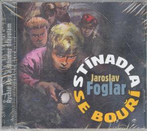 CD Stínadla se bouří Audiokniha