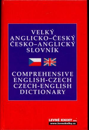 Velký anglicko-český česko-anglický slovník