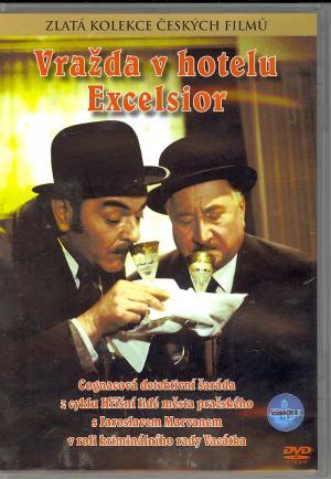 DVD Vražda v hotelu Excelsior