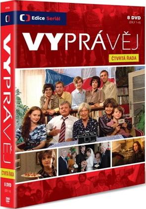 DVD Vyprávěj - čtvrtá řada