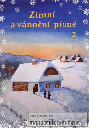 Zimní a vánoční písně 2. zpěv/akordy